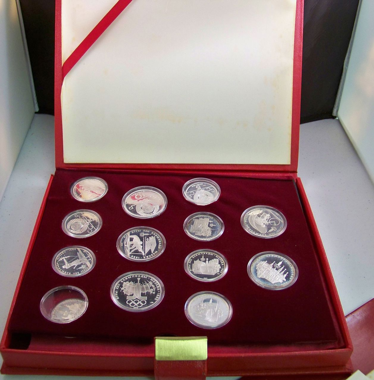 1980 olympic coin set value