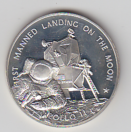 Franklin Mint Apollo 11 First Manned Landing on the Moon ...